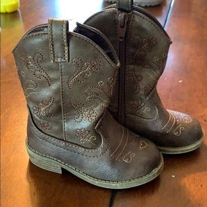 Cow girl boots!